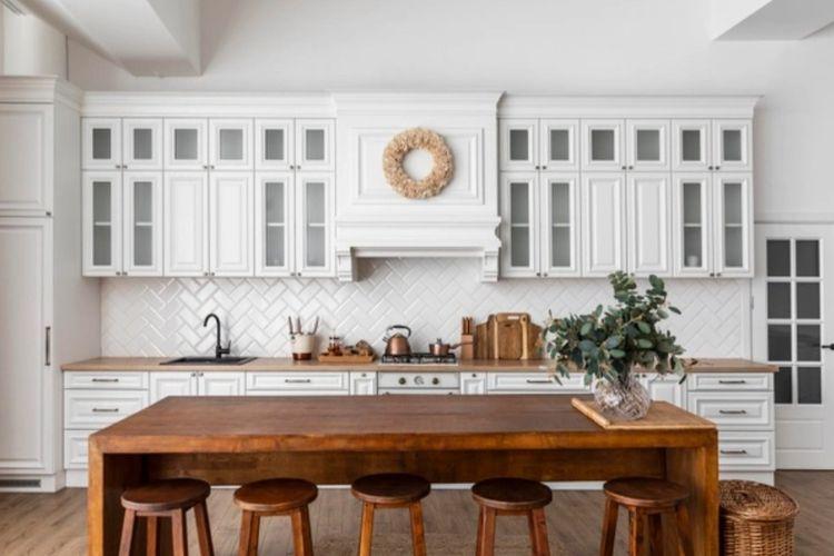 Tak Hanya Putih, Ini 5 Rekomendasi Warna Kabinet Dapur di Rumah