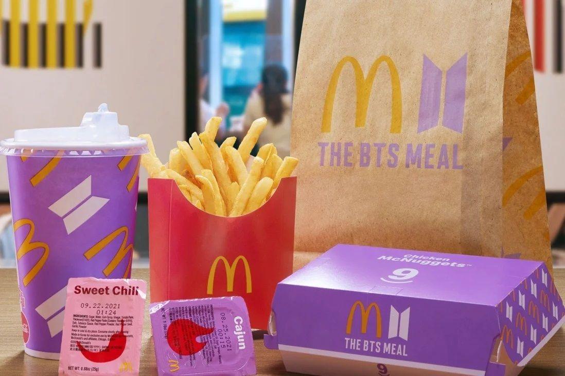 Bungkus bekas BTS Meal dijual kembali dengan harga mahal