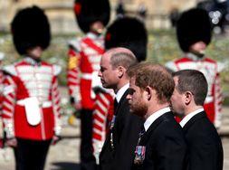 Alasan Pangeran William dan Harry Tak Berjalan Bersama Saat Pemakaman Pangeran Philip